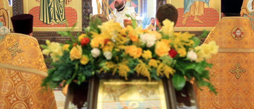 На воскресной Божественной литургии состоялась диаконская хиротония