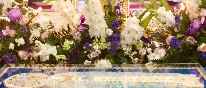 В кафедральном соборе состоялась Божественная литургия и чин погребения Пресвятой Богородицы
