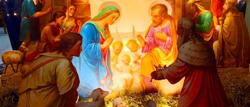 Рождественское украшение собора
