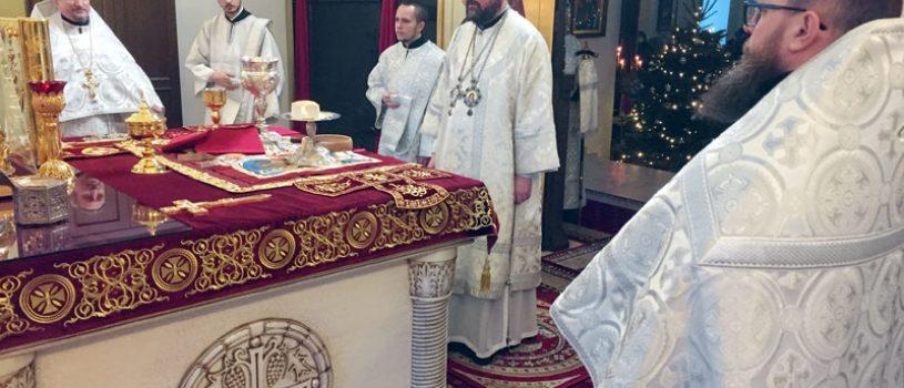 В праздник Крещения Господня епископ Серафим совершил Божественную литургию в соборе
