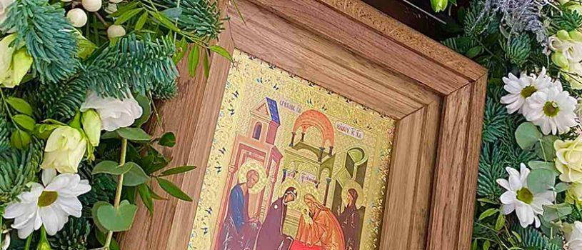 Епископ Серафим совершил всенощное бдение накануне праздника Сретения Господня