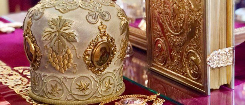 Епископ Серафим совершил Божественную литургию в соборе