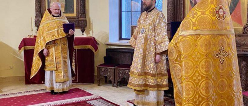В Прощеное воскресенье епископ Серафим совершил Божественную литургию и вечерню с чином прощения
