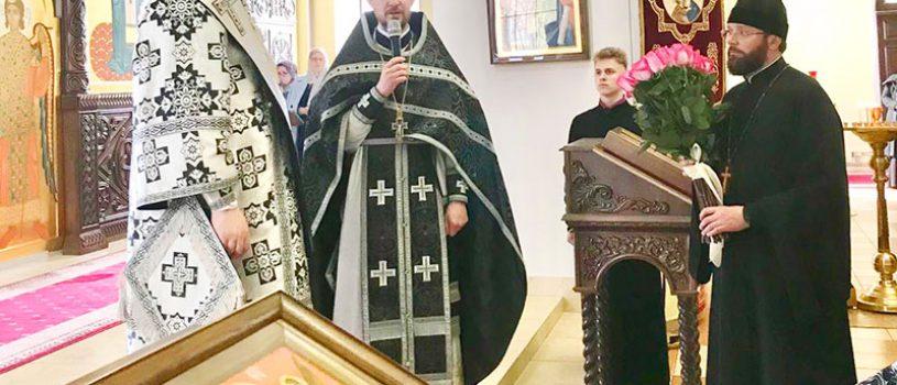 Епископ Серафим совершил литургию Преждеосвященных Даров