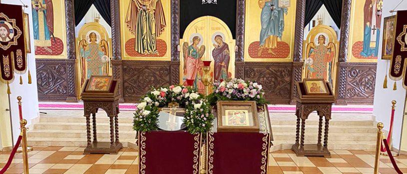Состоялась Божественная литургия в праздник Благовещения Пресвятой Богородицы
