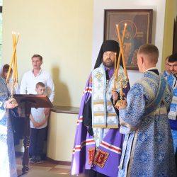 Епископ Серафим совершил освящение иконы Пресвятой Богородицы «Бобруйская Одигитрия»