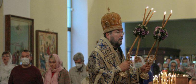 Праздник Успения Пресвятой Богородицы в кафедральном соборе